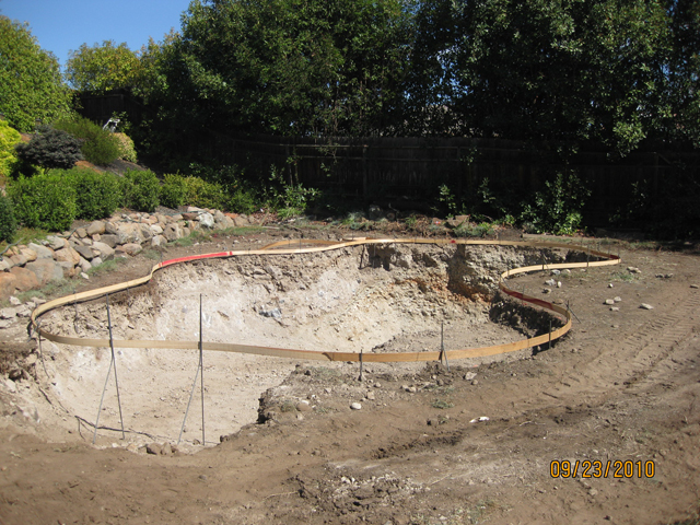 pool construction - design