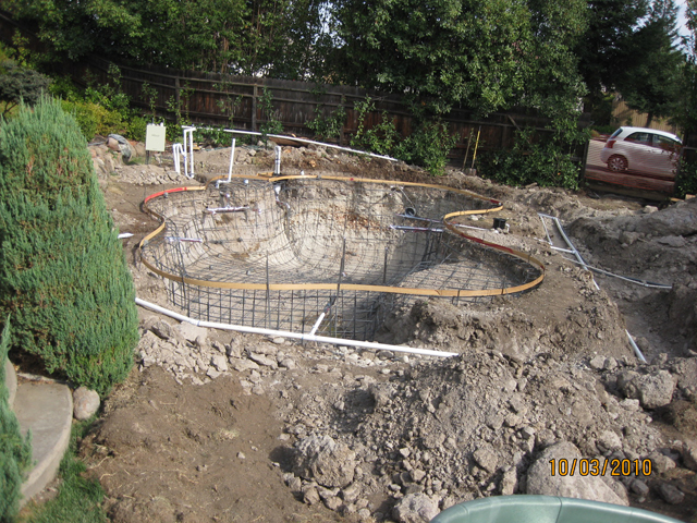 pool construction - steel