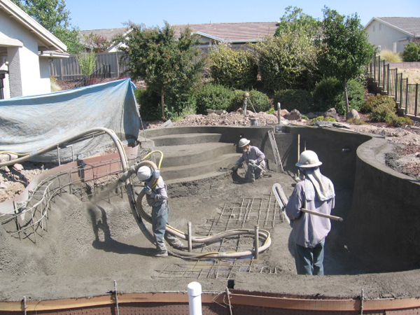 Construction Sun Fare Pools The Clear Choice For Sacramento Swimming Pools