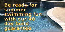 40 day pool construction